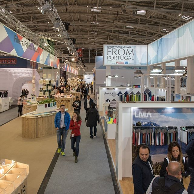 ISPO Munich 2018 -  Sport Textile Village FROM PORTUGAL