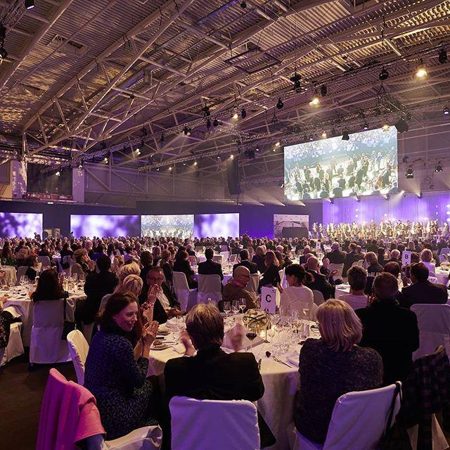 Evento de gala em Munique, dia 13 Dez 2018